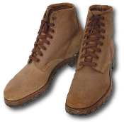 Navy and Marine Corps Leather Field Shoes.